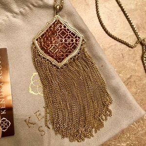 Kendra Scott Kingston Necklace Like New